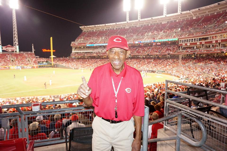 In 1969, Charlie Keith became the first African-American usher for the Cincinnati Reds